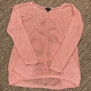 Apt. 9 peach sweater with a sparkle